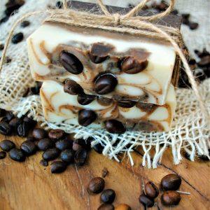 Mydło kawowe ręcznie robione, rzemieślnicze kosmetyki