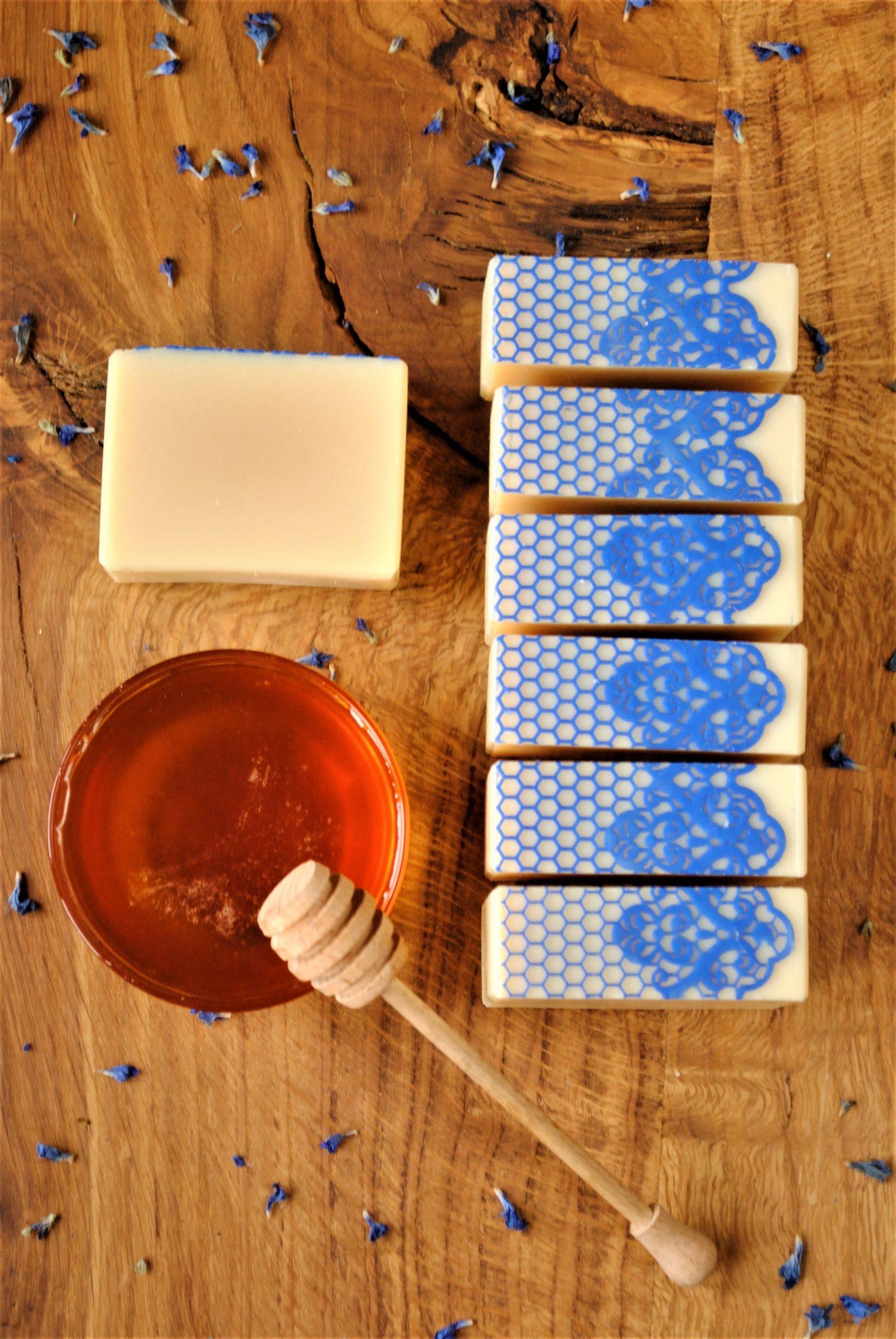 Mydło miodowe naturalne ręcznie robione