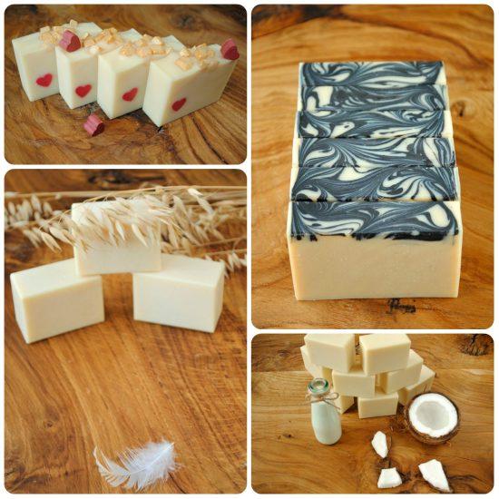 Pięciokostek - zestaw 5 naturalnych, ręcznie robionych mydeł - Kostka Mydła