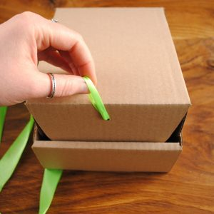pudełko prezentowe na naturalne kosmetyki