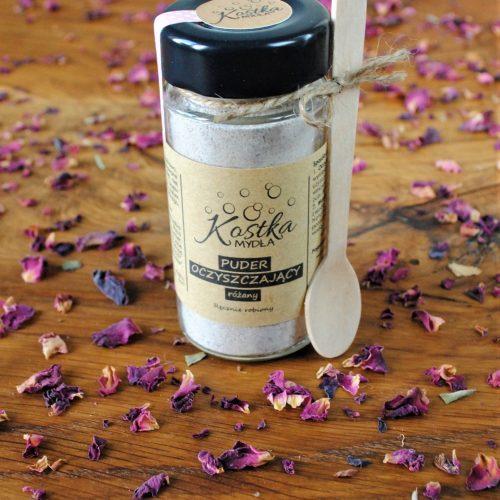 Puder oczyszczający różany