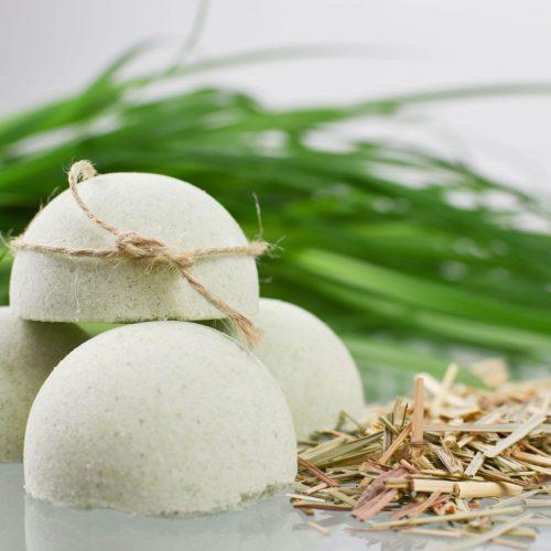 Półkula kąpielowa trawa cytrynowa
